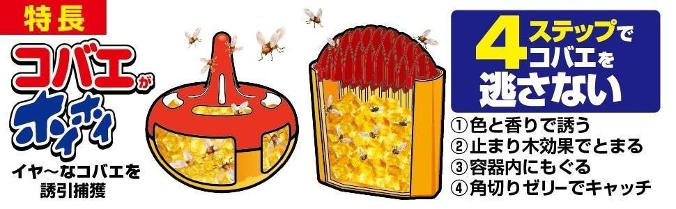 ハエ 蠅 蝿 小蠅 小苍蝇 殺虫剤 ハエとり ハエ取り ハエ捕り コバエとり コバエ取り コバエ捕り 虫ケア用品 虫ケア