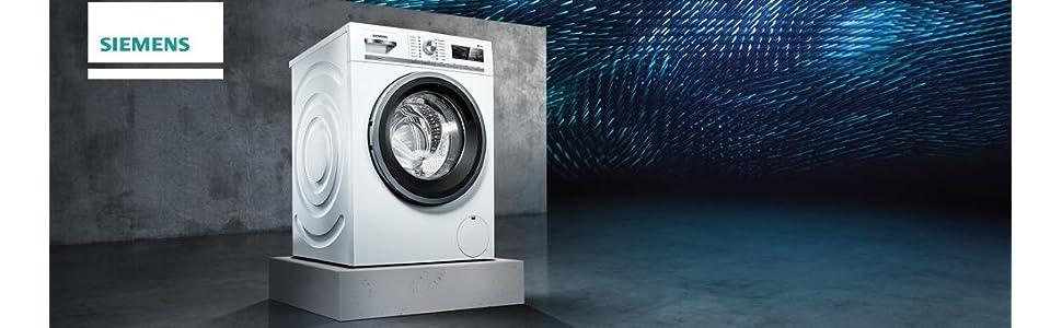siemens wm14n120 iq300 waschmaschine fl a 157 kwh jahr 1390 upm 7 kg wei spezialprogramm f r. Black Bedroom Furniture Sets. Home Design Ideas