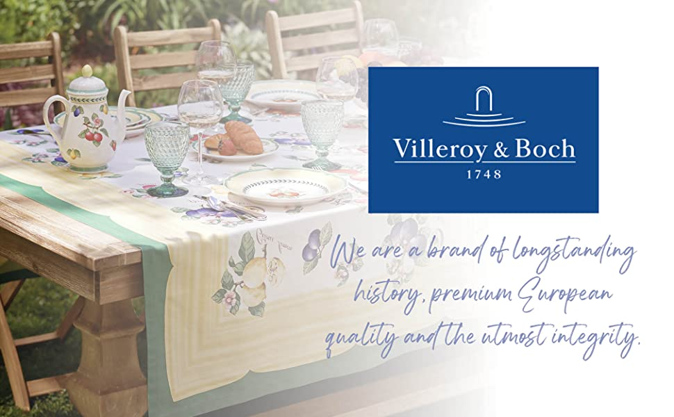 Villeroy and Boch Everyday Tablecloth and table collections