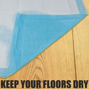 Keep your floors dry