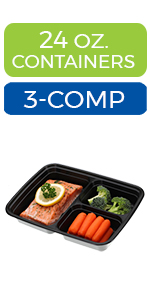 meal prep containers 2 compartment