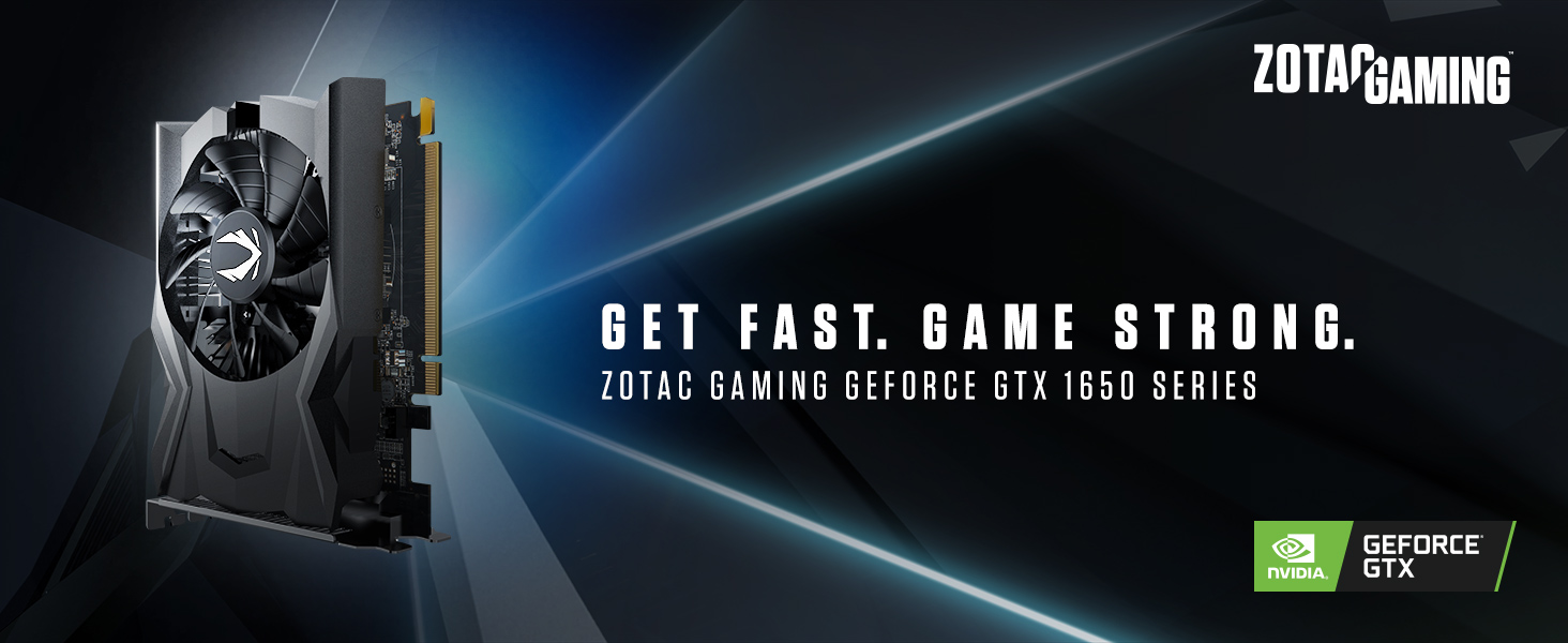 Amazon.com: ZOTAC Gaming GeForce GTX 1650 OC 4GB GDDR5 128 ...
