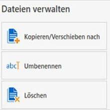 Komplette Dateiverwaltung