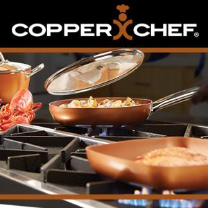 Amazon Com Copper Chef 12 Quot Round Pan With Lid Kitchen