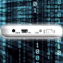 USB 2.0-Anschlüss in der Kombination mit einem Y-USB-Kabel für USB 1.1 Computer-Schnittstellen