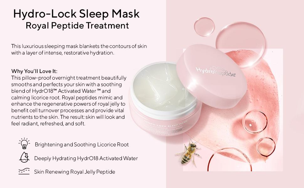 HydroPeptide Hydro-Lock Mask Royal Peptide Treatment