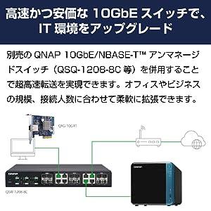 10GBEスイッチ対応