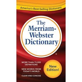 Amazon.com: The Merriam-Webster Dictionary New Edition (c) 2016 (9780877792956): The Merriam ...