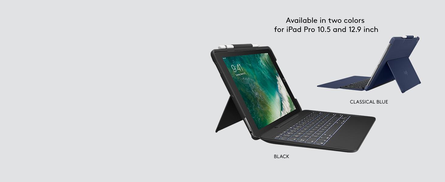 Amazon.com: Logitech - Funda con teclado para iPad Pro de 10 ...
