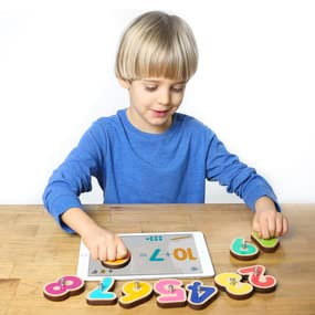 number toy, math game, math toy, counting toy , learn to count, interactive counting toy