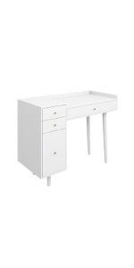 makeup vanity, white vanity, vanity table, makeup desk, makeup vanity table
