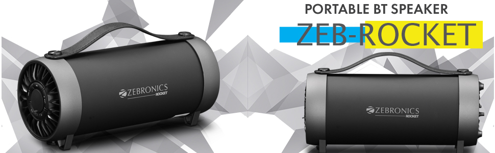The Zebronics Zeb-Rocket wireless portable Bluetooth speaker review in detail.