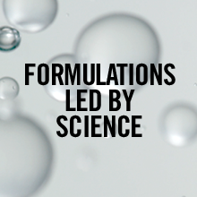 FORMULATIONS LED BY SCIENCE