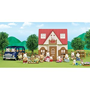 About Calico Critters, Red Roof Cozy Cottage