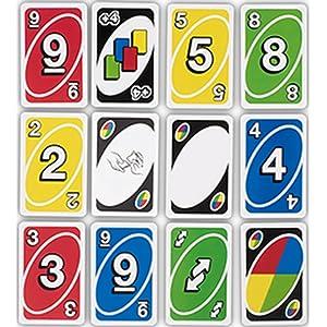 UNO juego cartas familia diversión regalo
