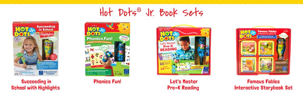 Amazoncom Educational Insights Hot Dots Jr Lets Learn The