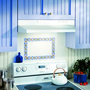 Terrific Broan Convertible Range Hood Insert With Light Exhaust Fan For Under Cabinet White 6 5 Sones 160 Cfm 24 Interior Design Ideas Philsoteloinfo