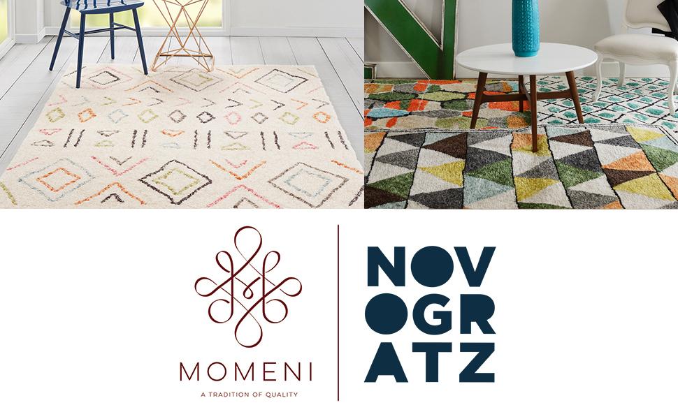 momeni bungalow rug novogratz shag moroccan berber carpet flooring high pile plush cozy casual
