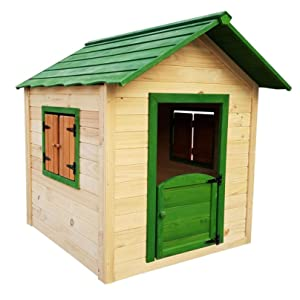 Outdoor Toys. Casita Infantil Kela Verde Decorada: Dim. Ext: 118 X ...