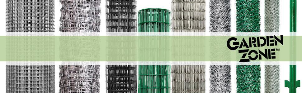 "Amazon.com : Garden Zone 48"" x 50' 23 Gauge Galvanized"