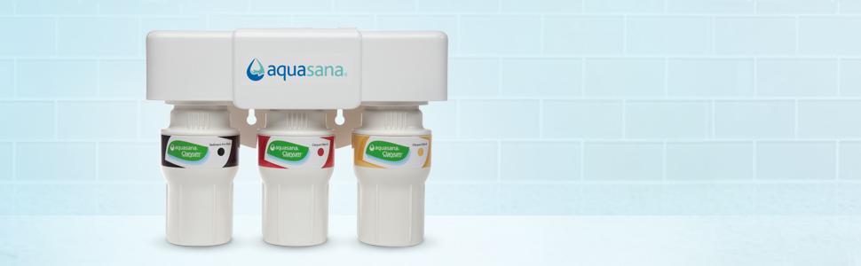 Aquasana 3 Stage Under Counter Water Filter System With
