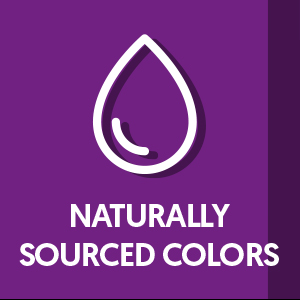 naturally sourced colors