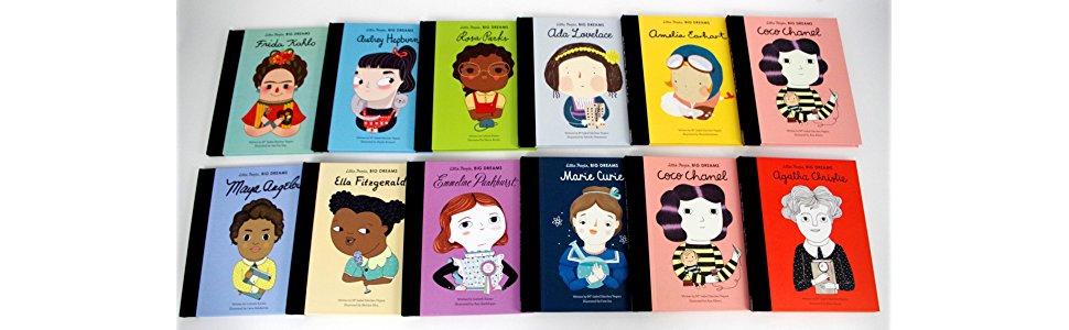 Little People Big Dreams Hardcover Books