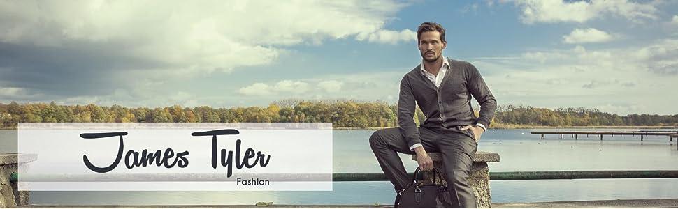James Tyler Americana de tejido de jersey para hombre