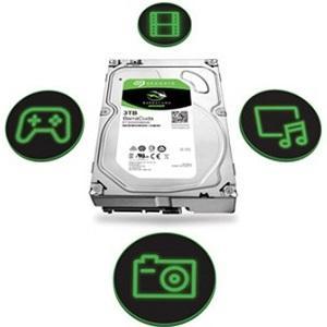Seagate BarraCuda Hard Disk interno 3,5 Pollici