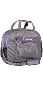 Classic Equine Deluxe Rope Bag Grape Chevron U-GPCV
