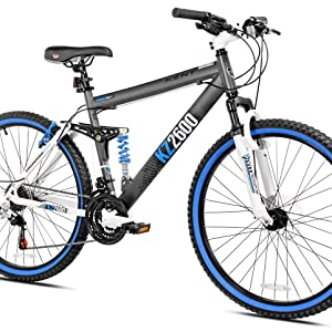 Amazon Com Kent Kz2600 Dual Suspension Mountain Bike 26 Inch Sports Outdoors Visit mcn for expert reviews on sports tourer bikes today. kent kz2600 dual suspension mountain bike 26 inch
