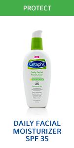 Daily facial moisturizer SPF 35