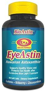 eyeastin eye health bioastin hawaiian astaxanthin lutein supplement vitamin nutrex hawaii