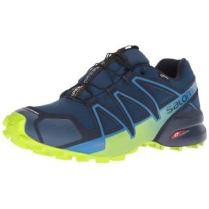 Salomon Speedcross 4 GTX, Zapatillas de Trail Running para Hombre, Negro (Black/Black/Silver Metallic-X), 46 2/3 EU: Amazon.es: Zapatos y complementos