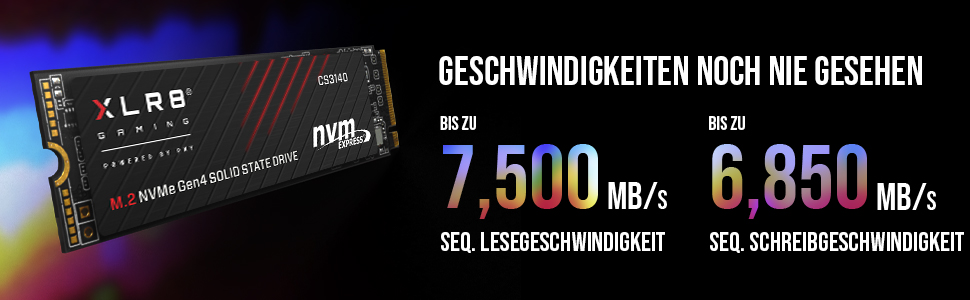 Pny Xlr8 Cs3140 M 2 Nvme Gen4 X4 Internal Solid State Computer Zubehör