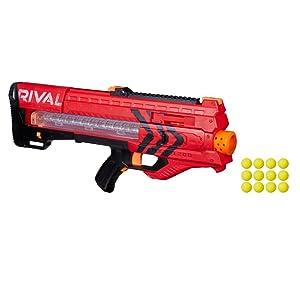 Nerf - Rival Zeus MXV-1200, color rojo (Hasbro B1592SC3