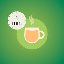 Préparez votre thé en 1 minute !