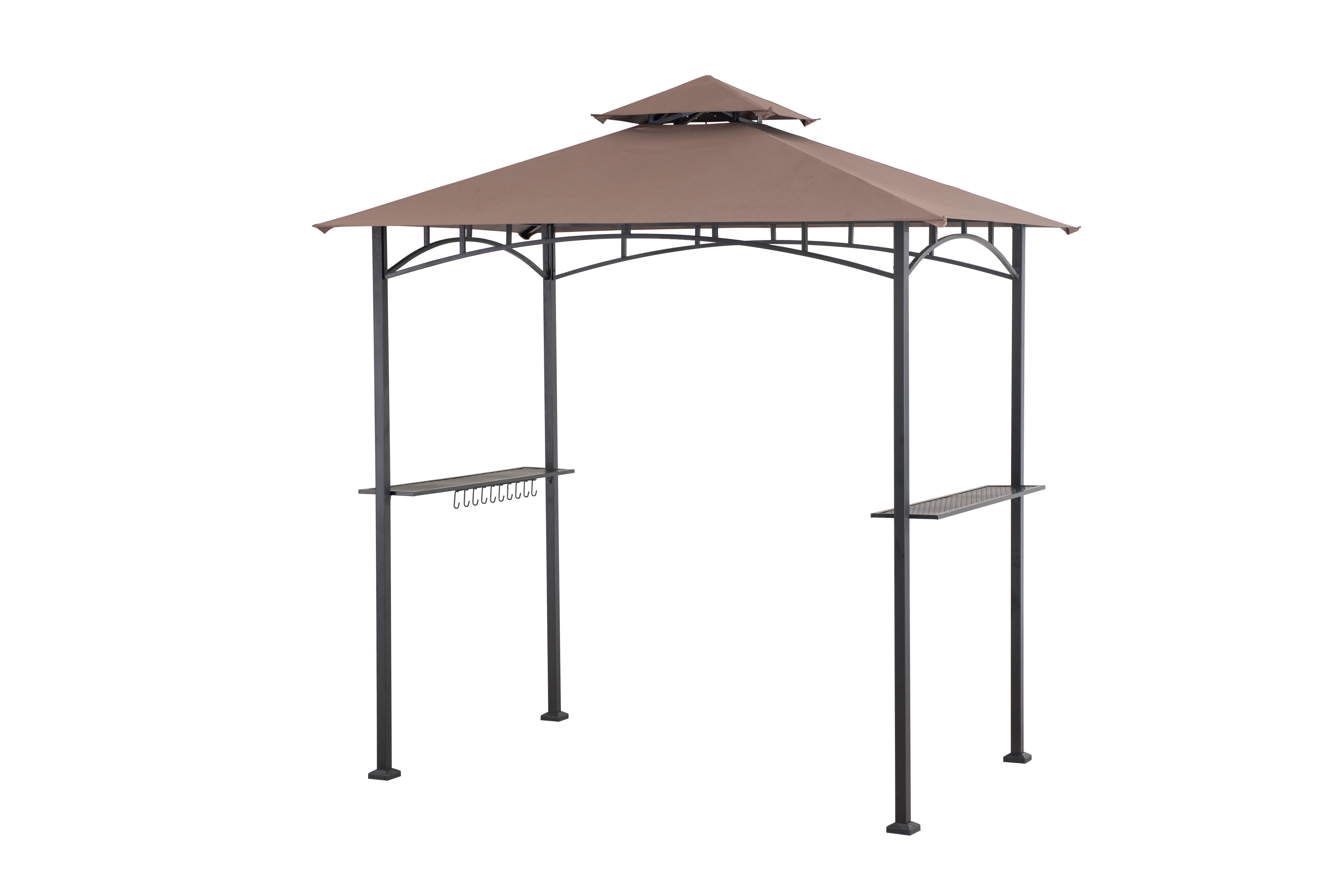 Sunjoy 110103014 Grill Gazebo Brown: Amazon.ca: Patio