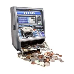 toy atm bank electronic digital STEM math