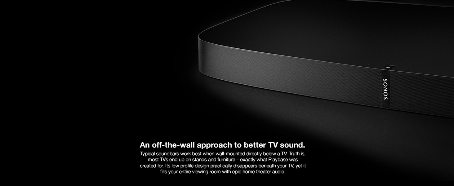 soundbase TV sound playbase