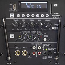 PORT12VHF-MKII multifunctioneel paneel