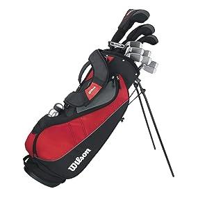 Wilson, Set Completo para Principiantes, Palos de Golf, Profile VF
