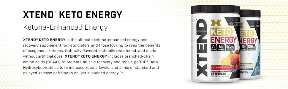 Amazon.com: Xtend Keto Energy | The Perfect Keto & BCAA Powder ...