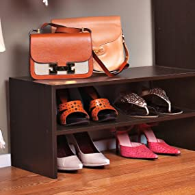 stackable, shoe organizer, shoe holder, entryway, mudroom, closet, bedroom, storage, stacking