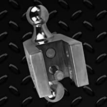 Uriah Products Aluma Tow 6 Drop Ball Mount For 2 Receiver Ut623410 Automotive