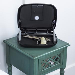 gunbox, gun, safe, storage, automatic, lid