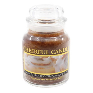 6oz Warm & Gooey Cinnamon Buns Jar Candle