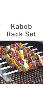 kabob rack