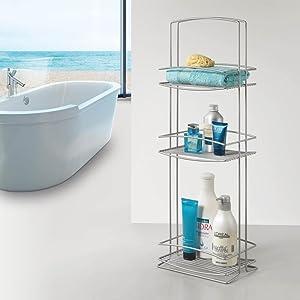 Metaltex ONDA - Jabonera de colgar para mampara de ducha: Amazon ...