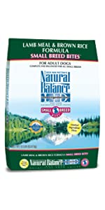 limited ingredient dog food, small breed dog food, small bites dog food